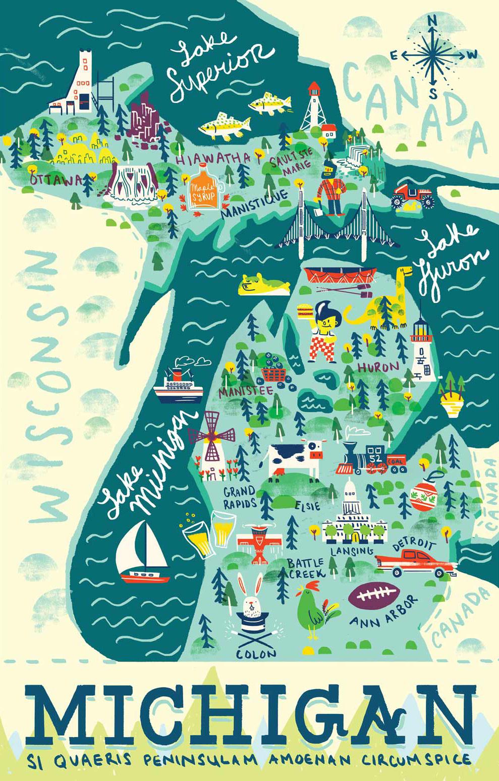 Campgrounds Around Michigan Its No Doubt That Michigan Has A - Michiganmap